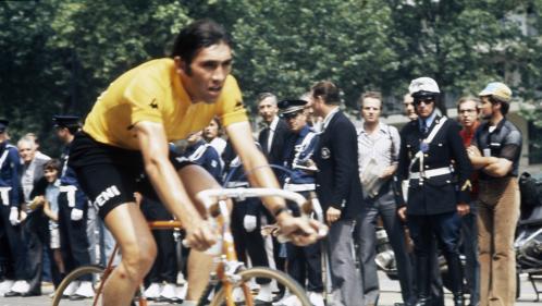 """Cinq dates qui ont forgé la légende du """"Cannibale"""" Eddy Merckx, célébré pour le départ du Tour de France 2019"""