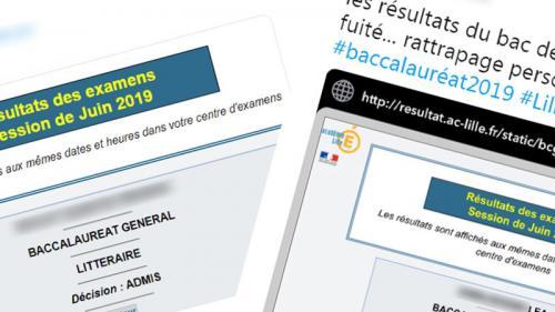 Bac 2019 : des candidats affirment avoir pu consulter leurs résultats avant leur publication officielle