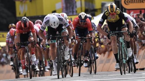 Mike Teunissen vainqueur surprise à Bruxelles et premier maillot jaune du Tour de France 2019