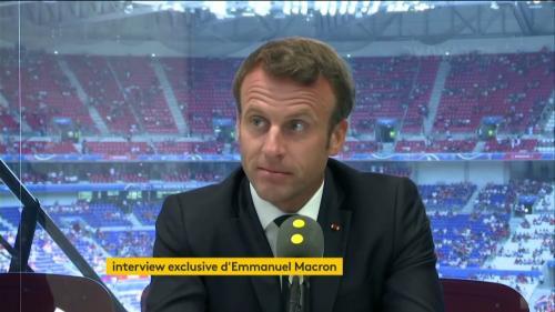 """DIRECT. Coupe du monde de football : """"Pour ce sport féminin les choses ne seront plus jamais les mêmes"""", réagit Emmanuel Macron"""