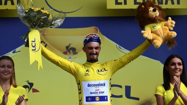 Tour de France : Julian Alaphilippe est heureux en jaune et la France aussi