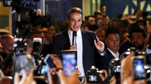 Législatives en Grèce : qui est Kyriakos Mitsotakis, le leader de la droite qui a triomphé d'Alexis Tsipras ?