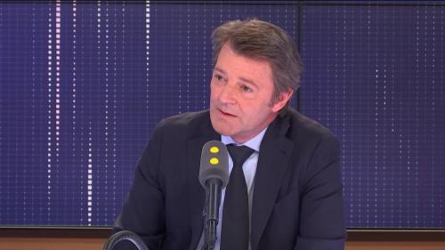 """Pour François Baroin, Emmanuel Macron a raison de qualifier de """"prise en otage"""" la rétention des notes du bac par des enseignants grévistes"""