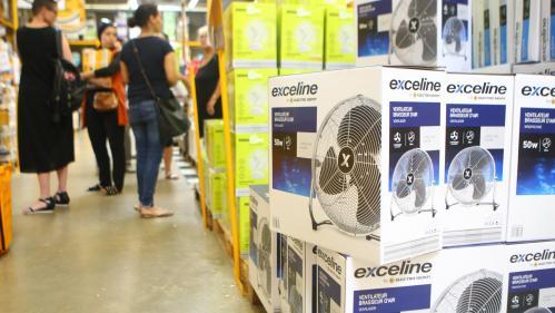 Ventilateurs, brumisateurs, glaces... Les ventes de ces produits ont connu un coup de chaud pendant la canicule