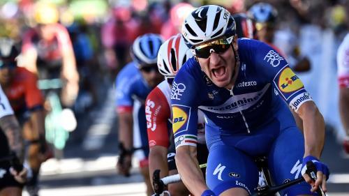 Tour de France : grande première pour Viviani, Alaphilippe reste en jaune