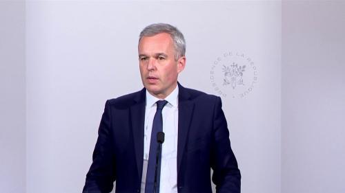 """VIDEO. François de Rugy dénonce une """"présentation très tendancieuse"""" de Mediapart"""