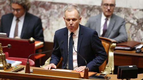 VIDEO. Dîners luxueux de François de Rugy : quand l'ancien président de l'Assemblée nationale prônait l'exemplarité