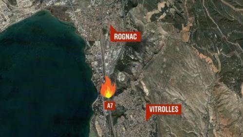 VIDEO. Bouches-du-Rhône : plusieurs départs de feu à Vitrolles, des habitations menacées