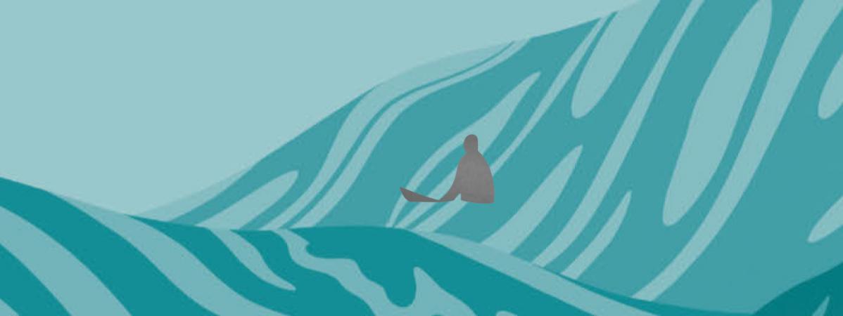 """""""In Waves"""", d'AJ Dungo : un premier roman graphique au sommet de la vague"""