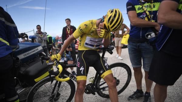 Tour de France : le Belge Dylan Teuns remporte la 6e étape, Julian Alaphilippe cède son maillot jaune à l'Italien Giulio Ciccone (pour 6 secondes)