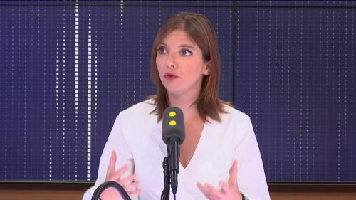 """Désignation de Benjamin Griveaux : Aurore Bergé """"ne croit pas"""" qu'Emmanuel Macron """"soit intervenu"""""""