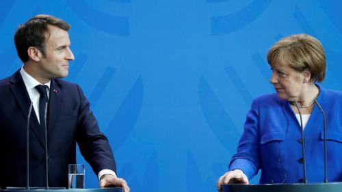 14-Juillet : Emmanuel Macron déjeunera avec une dizaine de dirigeants européens, dont Angela Merkel