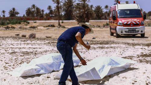 Tunisie : 38 nouveaux corps repêchés une semaine après un naufrage
