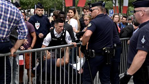 """DIRECT. 14-Juillet : 152 personnes, dont plusieurs figures des """"gilets jaunes"""", ont été interpellées à Paris en marge du défilé"""