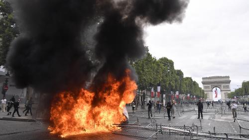 DIRECT. 14-Juillet : 175 personnes ont été interpellées à Paris après des violences, retour au calme sur les Champs-Elysées