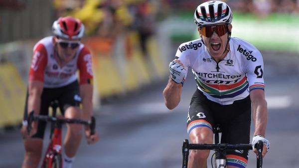 Tour de France : le Sud-Africain Daryl Impey s'impose à Brioude, Julian Alaphilippe devrait garder son maillot jaune