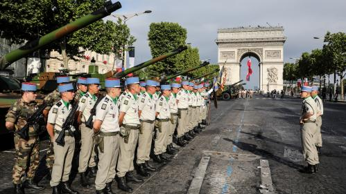 DIRECT. 14-Juillet : 4 200 soldats sont rassemblés sur les Champs-Elysées. Regardez et commentez en direct le défilé