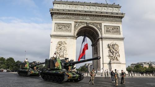 DIRECT. Défilé du 14-Juillet : la cérémonie démarre, Emmanuel Macron sifflé lors de la revue des troupes