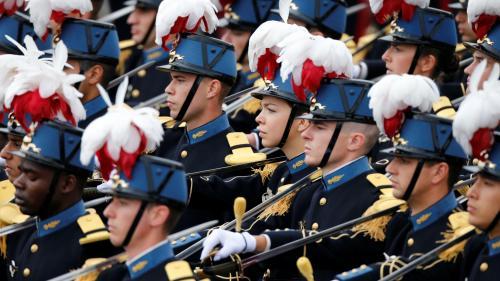 DIRECT. Défilé du 14-Juillet : écoles, soldats, engins... l'armée en démonstration sur les Champs-Elysées