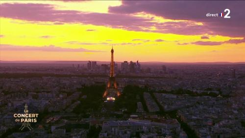 REPLAY. Revivez le concert de Paris et le feu d'artifice du Champ de Mars