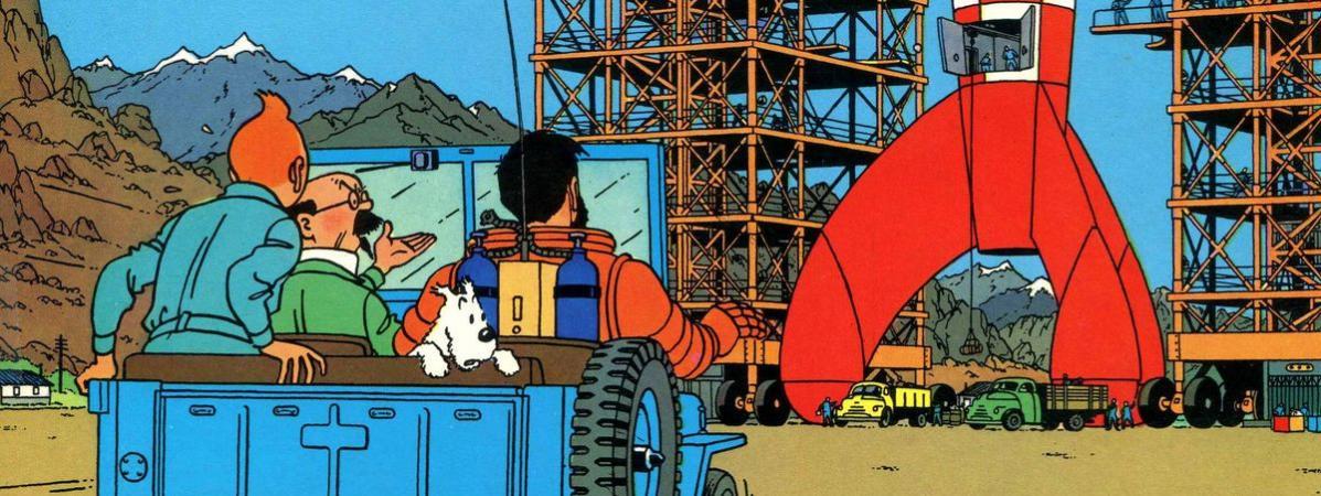 """Hergé avait-il tout prévu ? On a fact-checké """"On a marché sur la Lune"""", la BD où Tintin devance Neil Armstr..."""