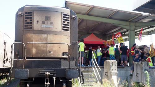 Le train des primeurs Perpignan-Rungis, censé être supprimé cet été, circule-t-il à vide ?