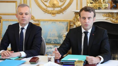 """Affaire Rugy : """"Je prends des décisions sur la base de faits (...), sinon cela devient la République de la délation"""", déclare Macron"""