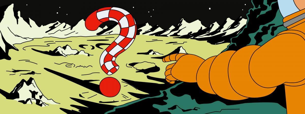 """VRAI OU FAKE Hergé avait-il tout prévu ? On a fact-checké """"On a marché sur la Lune"""", la BD où Tintin devance Neil Armstrong de 16 ans"""