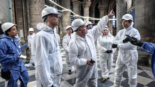 Notre-Dame : au coeur d'un chantier colossal et exemplaire