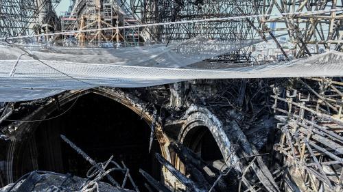 Notre-Dame de Paris : visite de chantier pendant la sécurisation