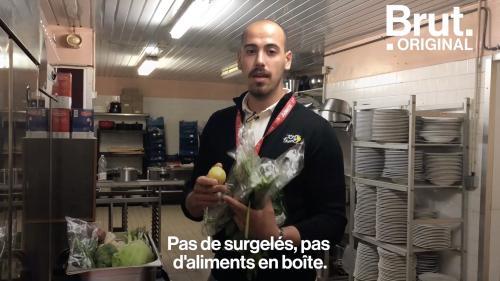 VIDEO. Tour de France : il contrôle la qualité des repas des 176 coureurs