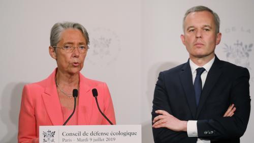 DIRECT. La passation de pouvoir entre François de Rugy et Elisabeth Borne aura lieu à 13h30 au ministère de l'Ecologie