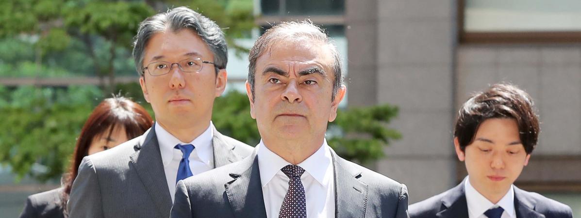 Carlos Ghosn a intenté des poursuites en justice contre Nissan et Mitsubishi pour rupture abusive de son contrat