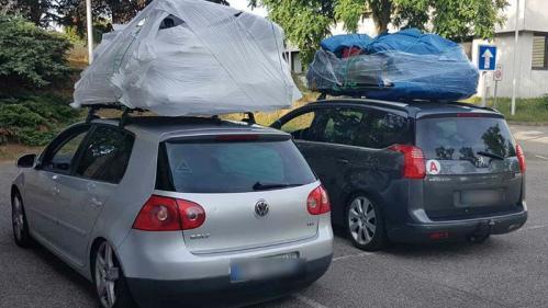 Deux voitures interceptées dans la Drôme pour surcharge   https://www.francetvinfo.fr/societe/securite-routiere/deux-voitures-interceptees-dans-la-drome-pour-surcharge_3539637.html…pic.twitter.com/UQPYqX5bSa