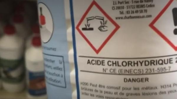 Essonne : les achats croissants d'acide chlorhydrique inquiètent