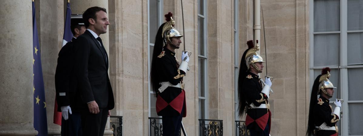 L'Elysée a dépassé son budget initial de plus de 5 millions d'euros en 2018, selon un rapport de la Cour des comptes