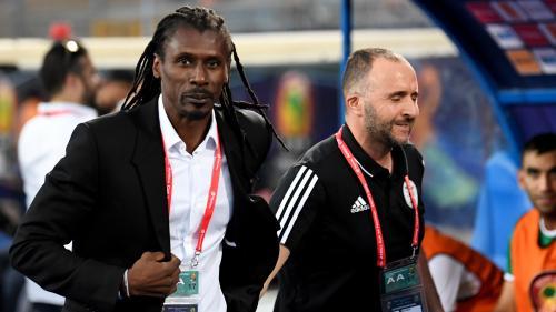 Finale de la CAN : Djamel Belamadi et Aliou Cissé, deux sélectionneurs au destin étroitement lié