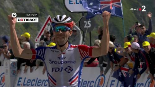 VIDEO. Tour de France : Pinot vainqueur, Alaphilippe en jaune... Doublé français au sommet du Tourmalet