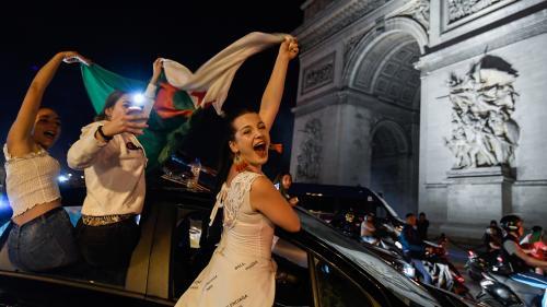 Finale de la CAN : les supporters fêtent la victoire de l'Algérie, peu d'incidents et seulement 13 interpellations en région parisienne