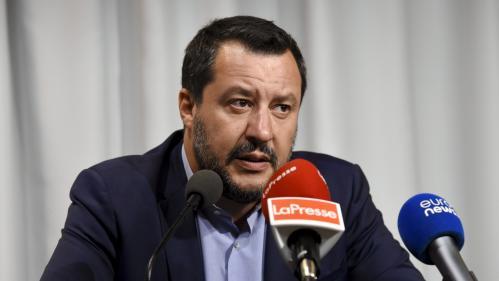 """Migrants : """"Les choix faits à Paris et à Berlin, ça suffit"""", dénonce Matteo Salvini"""