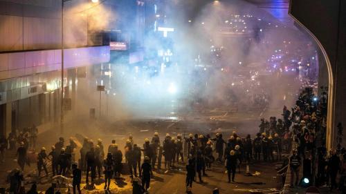 DIRECT. Hong Kong : la police tire des balles en caoutchouc contre des manifestants