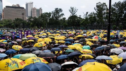 DIRECT. Hong Kong : des milliers d'opposants au gouvernement manifestent contre le projet de loi sur l'extradition