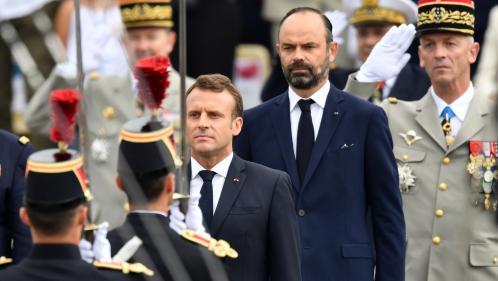 """La popularité d'Emmanuel Macron et d'Edouard Philippe en légère progression, selon le baromètre Ifop pour """"Le JDD"""""""