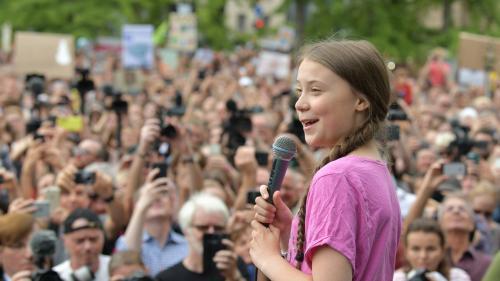"""Prix Liberté à Greta Thunberg : """"Elle a réussi à lancer un mouvement qui va bien au-delà d'elle"""", salue Greenpeace"""