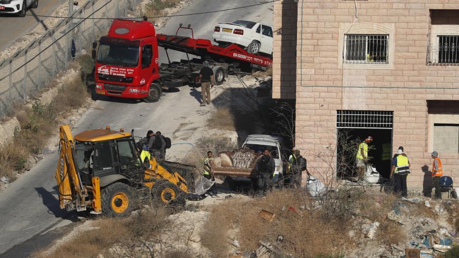 Israël entreprend la démolition de maisons palestiniennes en limite de Jérusalem