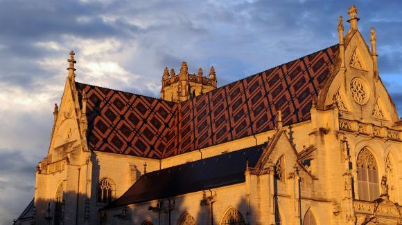Le monastère royal de Brou, à Bourg-en-Bresse.