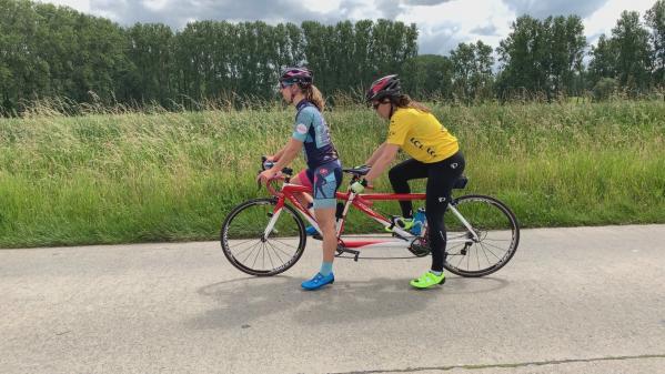 VIDEO. Mon échappée : le Tour de France en tandem de Laëtitia Bernard