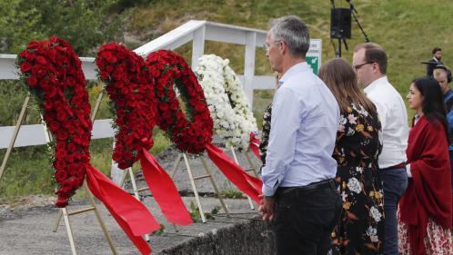 Norvège : une croix gammée a été taguée sur un mémorial dédié aux victimes d'Utoya