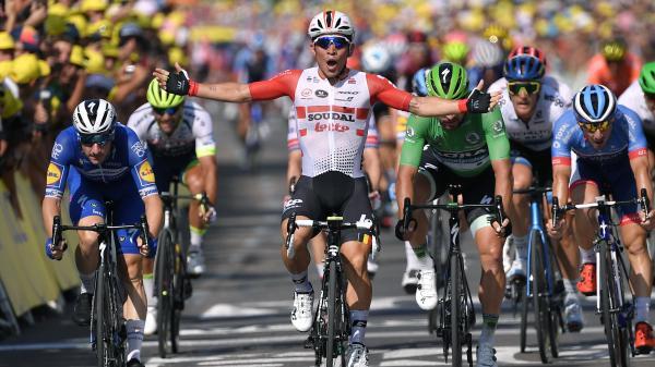 Tour de France : Caleb Ewan remet ça à Nîmes, Julian Alaphilippe reste en jaune