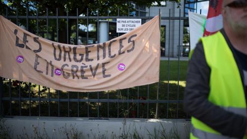 Grève aux urgences : la mobilisation continue dans plus de 200 services
